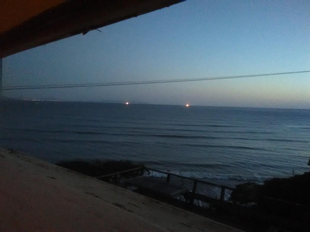 Pacific Ocean at Twilight