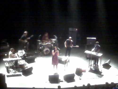 Stereolab Performing Live